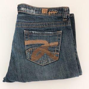 Kut from the Kloth straight medium wash jeans